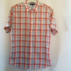BANANA REPUBLIC MEN'S SS BUTTON DOWN SHIRT